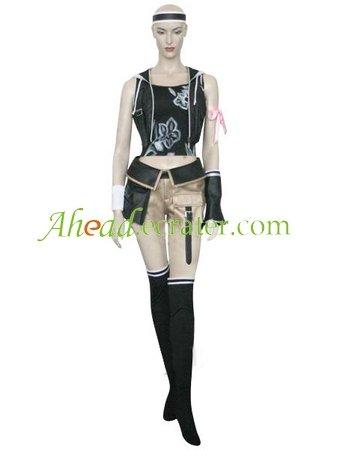 Final Fantasy VII Yuffie Kisaragi Halloween Cosplay Costume