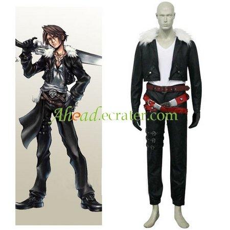 Final Fantasy VIII Squall Halloween Cosplay Costume