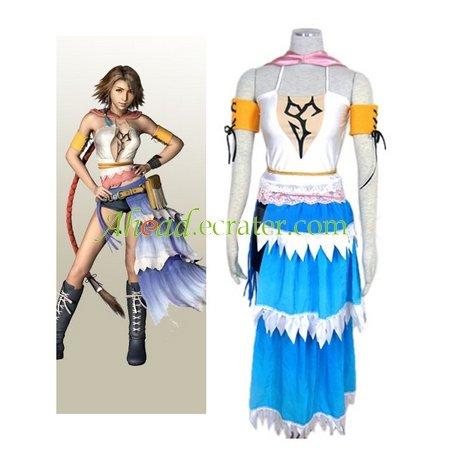 Final Fantasy X-2 Yuna Halloween Cosplay Costume