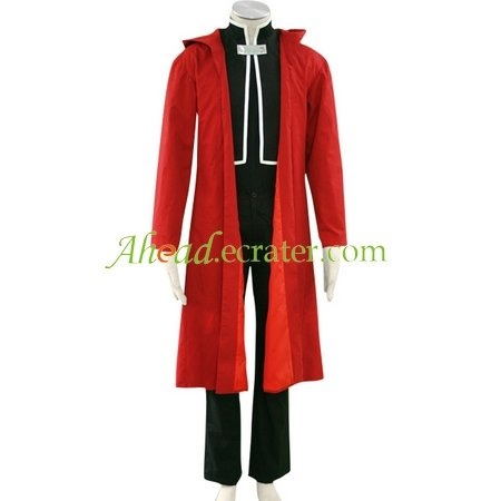 Full Metal Alchemist Edward Halloween Cosplay Costume