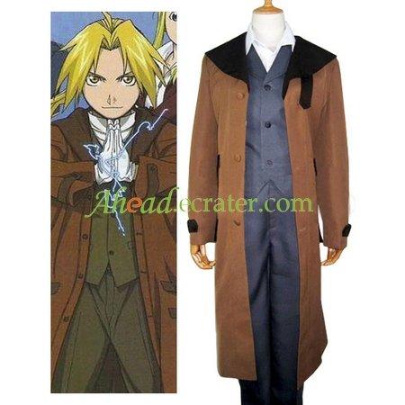 Fullmetal Alchemist Edward Halloween Cosplay Costume