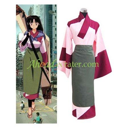 Inuyasha Sango Casual Wear Cosplay Costume