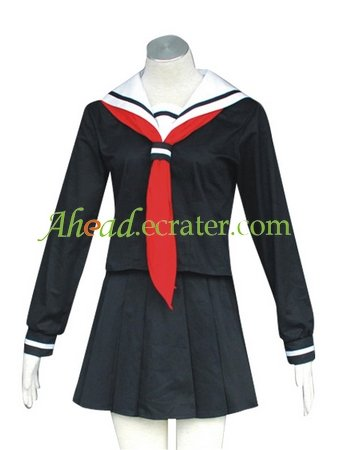 Hell Girl Ai Enma Halloween Cosplay Costume