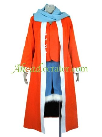 One Piece Luffy Halloween Cosplay Costume