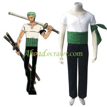 One Piece Roronoa Zoro Halloween Cosplay Costume