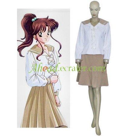 Sailor Moon Lita Kino Cosplay Costume