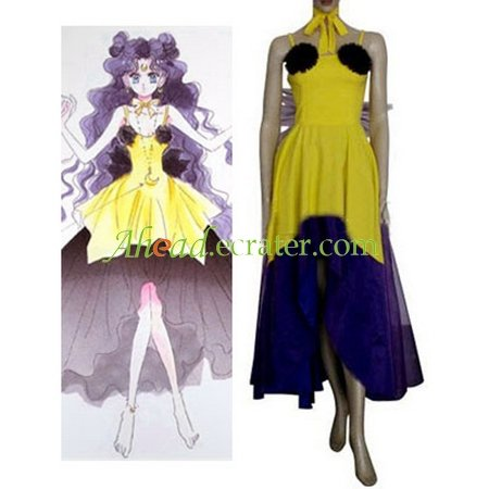 Sailor Moon Luna Human Cosplay Costume