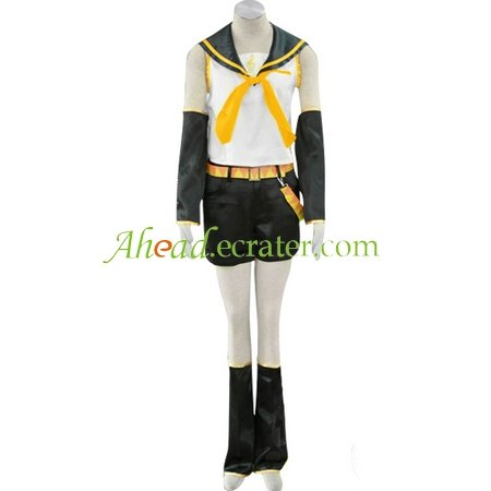 Vocaloid Kagamine Rin Halloween Cosplay Costumes