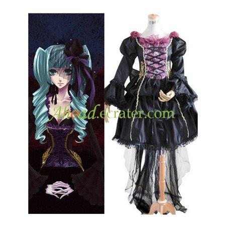 Vocaloid Miku Doujin Cosplay Costume