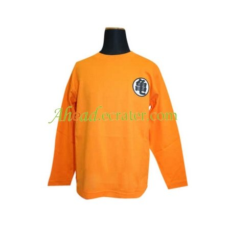 Dragon Ball Cosplay Costume With Kame Letter