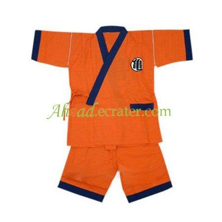 Dragon Ball Practice Suit Cosplay Costume