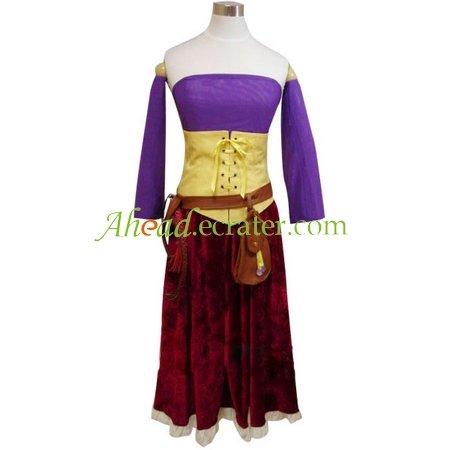 Dragon Warrior 8 Maya Cosplay Costume
