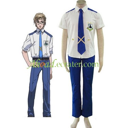 Macross Frontier Mihoshi Academy Uniform Cosplay Costume