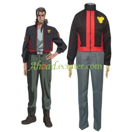 Macross Frontier SMS Uniform Cosplay Costume