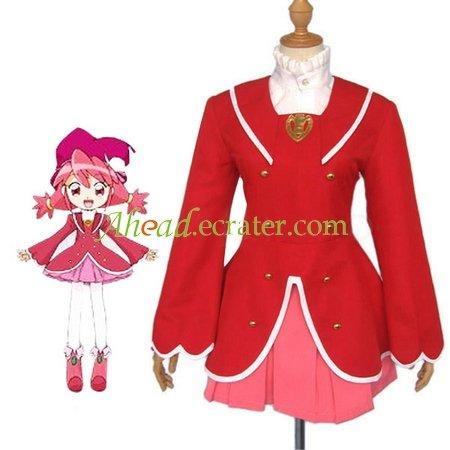 Fushigiboshi No Futago Hime Gyu Fine Cosplay Costume