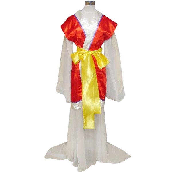 Fushigi Yugi Miaka Yuki Cosplay Costume As Psychic
