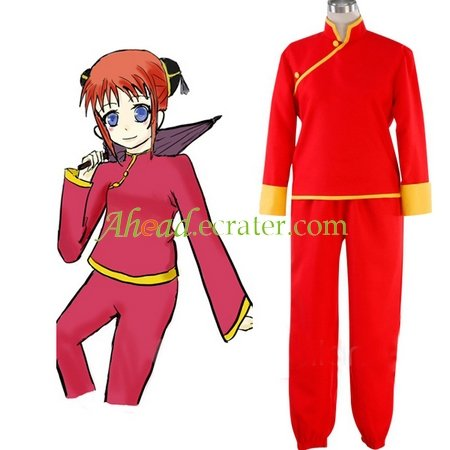 Silver Soul Kagura Cosplay Costume