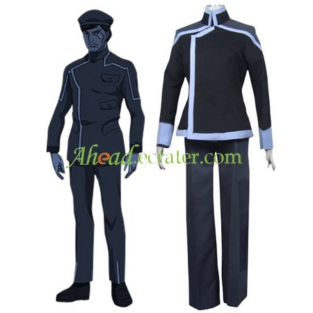 Gundam 00 Sergei Smirnov Cosplay Costume
