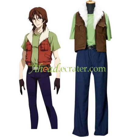 Mobile Suit Gundam 00 Lockon Stratos Private Version Cosplay Costume