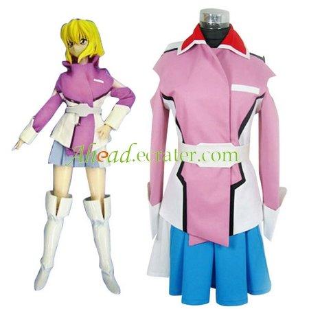Gundam Seed Destiny Stella Loussier Cosplay Uniform