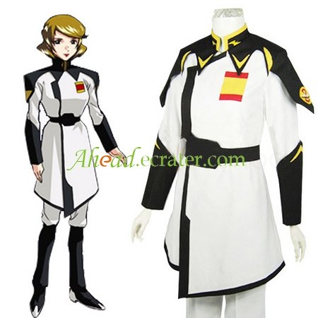 Gundam Seed Destiny Talia Gladys Cosplay Costume