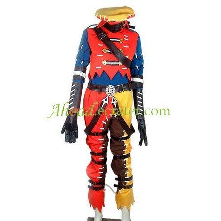 Hack--G.U Triedge Halloween Cosplay Costumes
