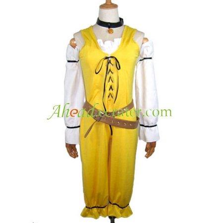 Hack Jumper Cosplay Costume yellow