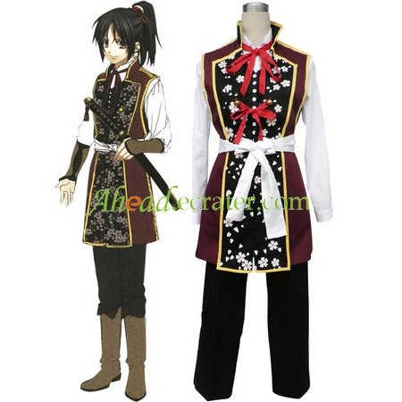 Haku�ki Chizuru Yukimura Cosplay Costume