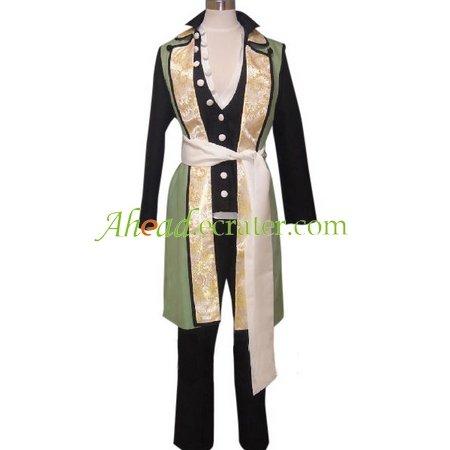 Hakuouki Shinsengumi Kitan Nagakura Shinpachi Cosplay Costume