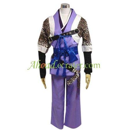 Harukanaru Toki no Naka de Minamoto no Yorihisa Cosplay Costume
