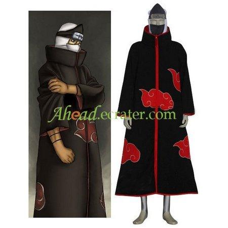 Naruto Akatsuki Kakuzu Halloween Cosplay Costume