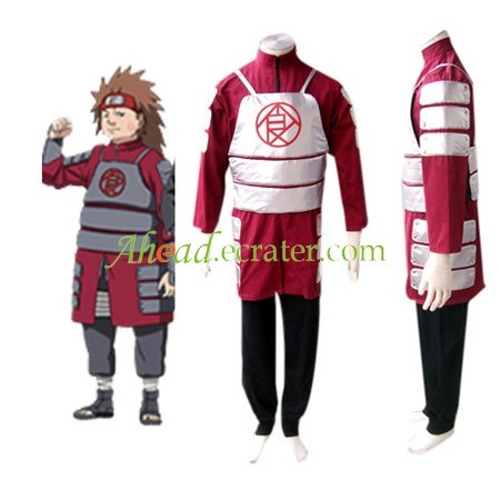 Naruto Shippuden Akimichi Chouji Men's Cosplay jacket