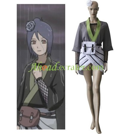 Naruto Konan Halloween Cosplay Costume