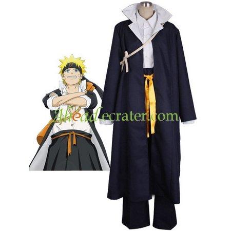 Naruto Shippu! Konoha Gakuen Den Halloween Cosplay Costume