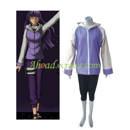 Naruto Shippuden Hinata Hyuga Cosplay Halloween Costume