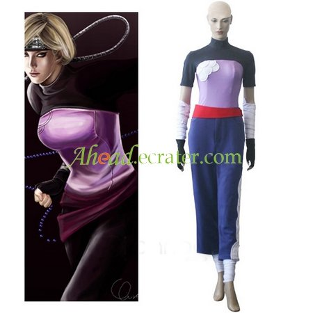Naruto Two-Tailed Monster Cat Yugito Nii Cosplay Costume