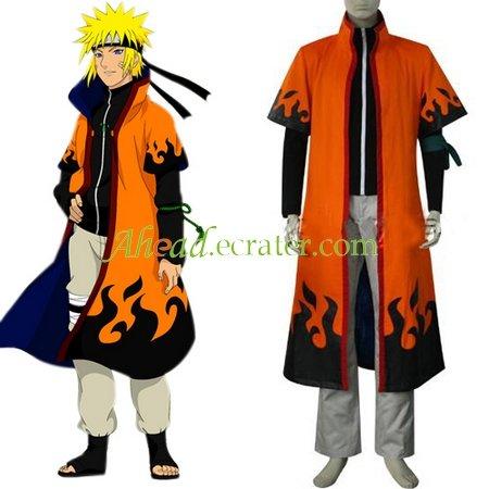 Naruto Uzumaki 6th Hokage Halloween Cosplay Costume