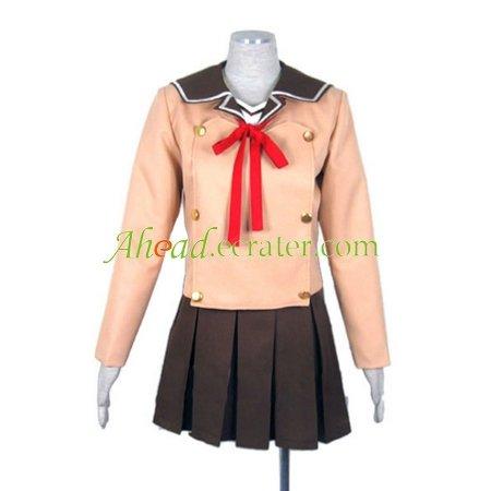 Hitohira Uniform of Girls Cosplay Costume