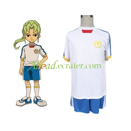 Inazuma Eleven Inazuma Japan Summer Soccer Uniform Cosplay Costume