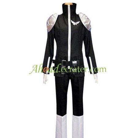 Kateky� Hitman Reborn! Black Byakuran Cosplay Costume