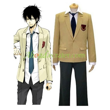 Kateky� Hitman Reborn! Namimori High School Uniform Cosplay Costume