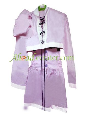 The King of Fighters Purple Cosplay Costume