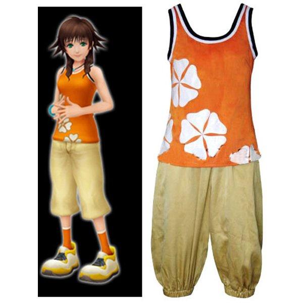 Kingdom Hearts II Olette Cosplay Costume