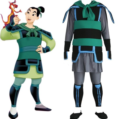 Kingdom Hearts Mulan Cosplay Costume
