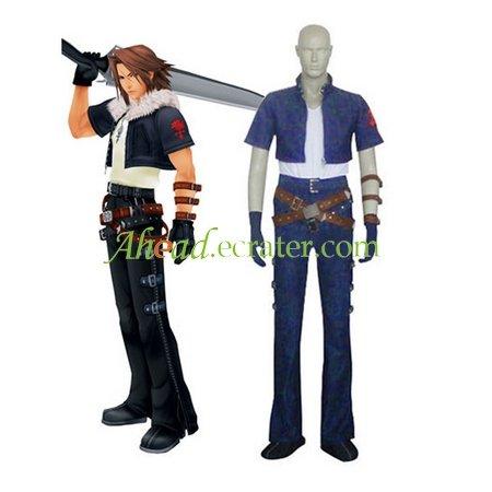 Kingdom Hearts Squall Halloween Cosplay Costume