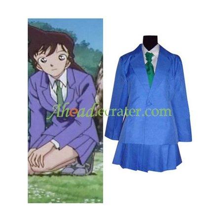 Detective Conan Mouri Ran Cosplay Costume