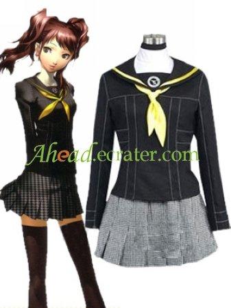Shin Megami Tensei Persona 3 Gekkoukan High School Female Uniform Cosplay Costume