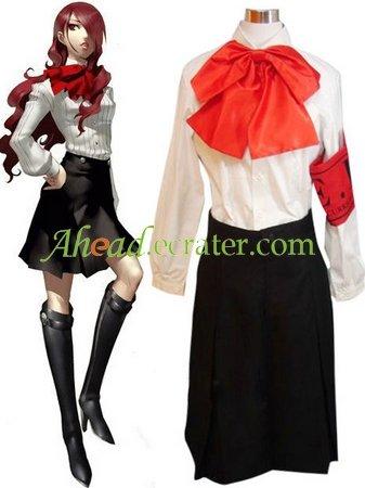 Shin Megami Tensei Persona 3 Mitsuru Kirijo Halloween Cosplay Costume