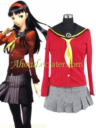 Shin Megami Tensei Persona 4 Yukiko Amagi Cosplay Costume