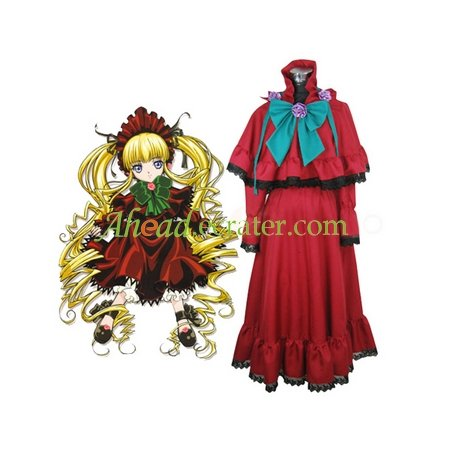 Rozen Maiden Shinku Lolita Cosplay Costume